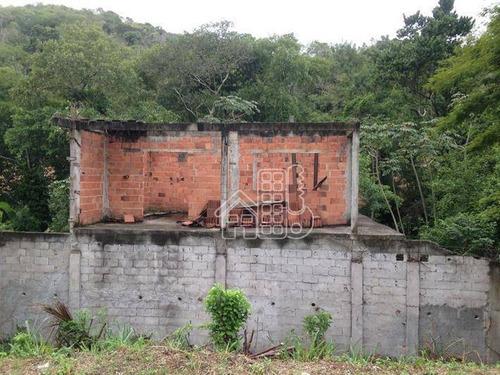 terreno residencial à venda, piratininga, niterói. - te0062