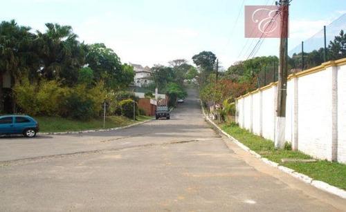 terreno residencial à venda, recanto inpla, carapicuíba - te0749. - te0749