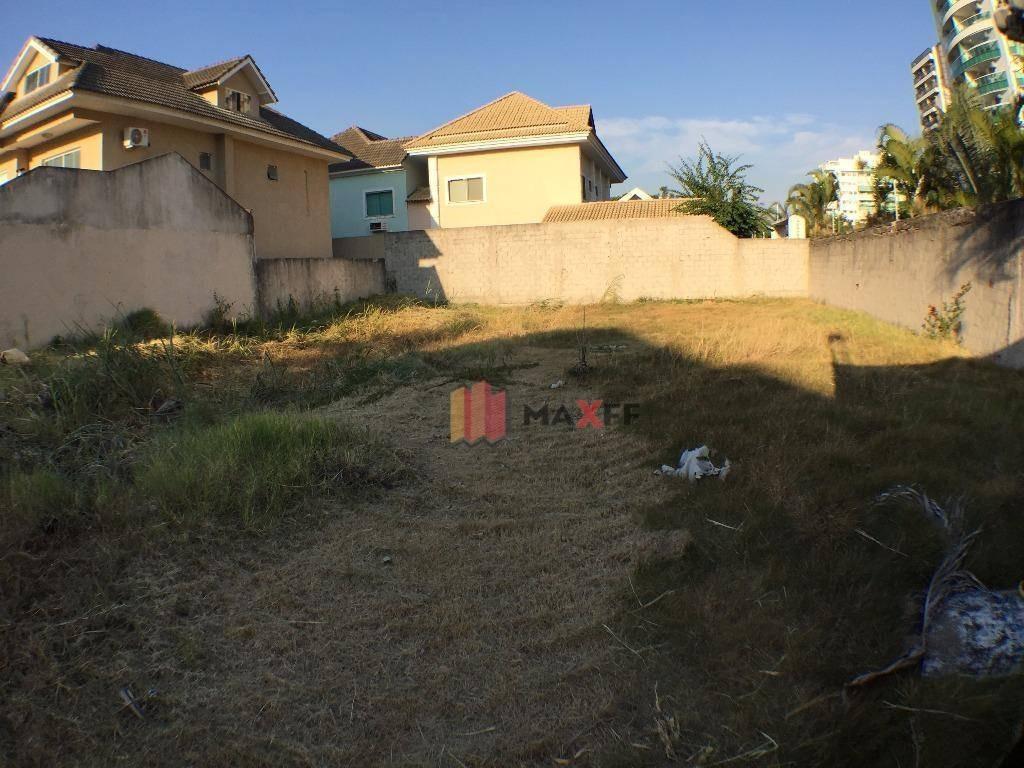 terreno residencial à venda, recreio dos bandeirantes, rio de janeiro. - te0002