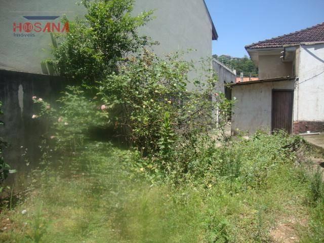 terreno  residencial à venda, região central, caieiras. - te0027