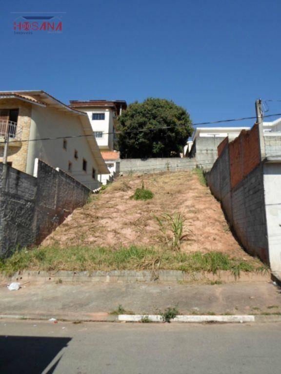 terreno residencial à venda, região central, caieiras. - te0091