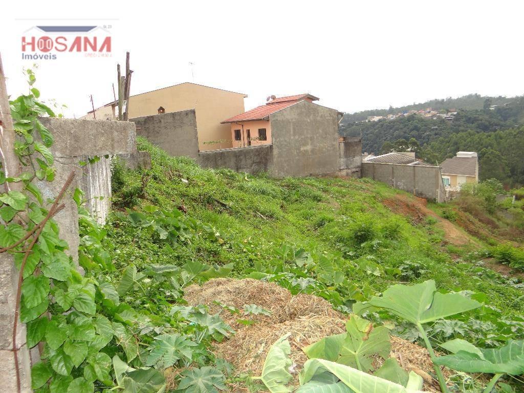 terreno residencial à venda, região central, caieiras. - te0135
