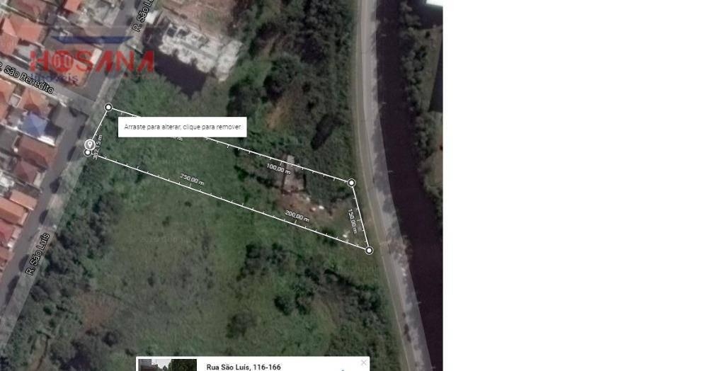 terreno residencial à venda, região central, caieiras. - te0158