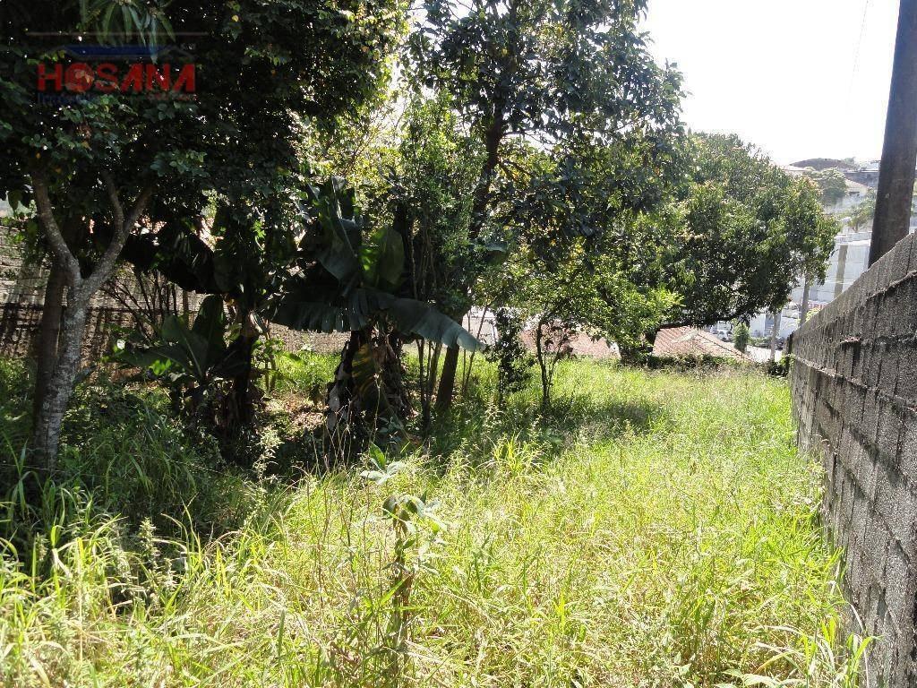 terreno residencial à venda, região central, caieiras. - te0216