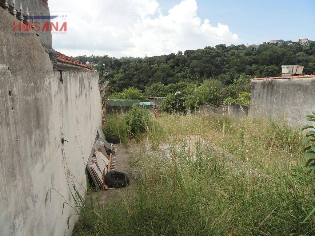 terreno residencial à venda, região central, caieiras. - te0240