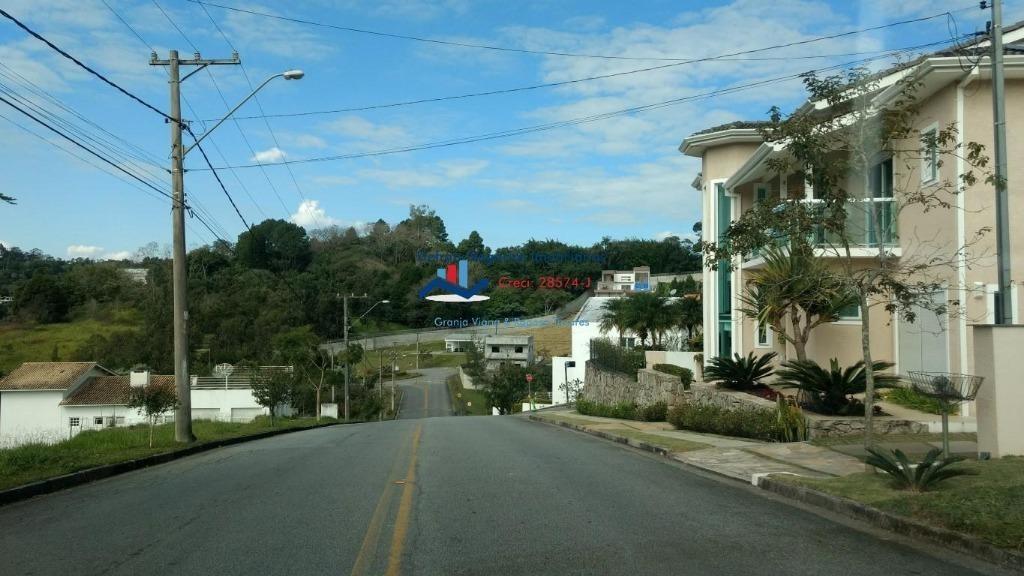 terreno residencial à venda, reserva vale verde, cotia. - te0029
