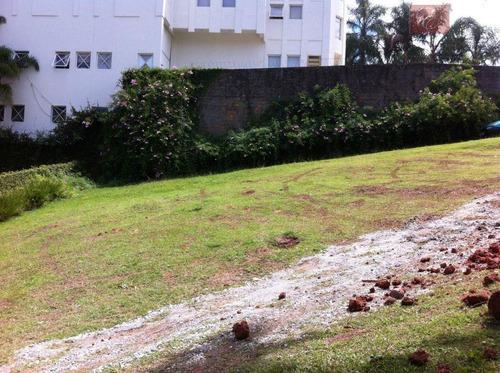 terreno  residencial à venda, residence plaza, cotia. - te0919