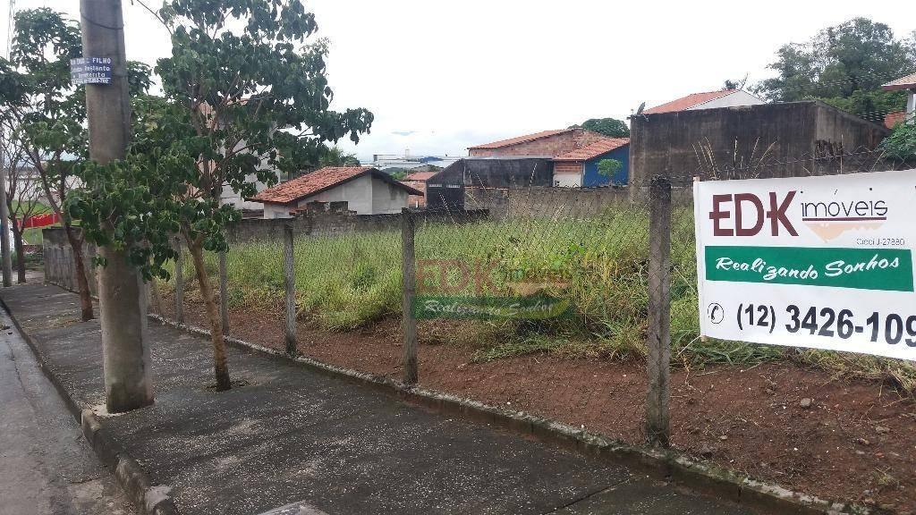 terreno residencial à venda, residencial estoril, taubaté. - te0357