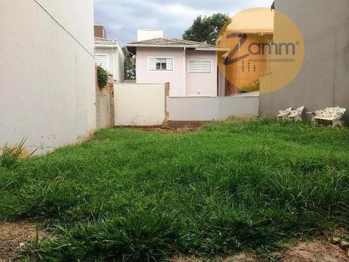 terreno  residencial à venda, residencial terras do barão, campinas. - codigo: te0571 - te0571