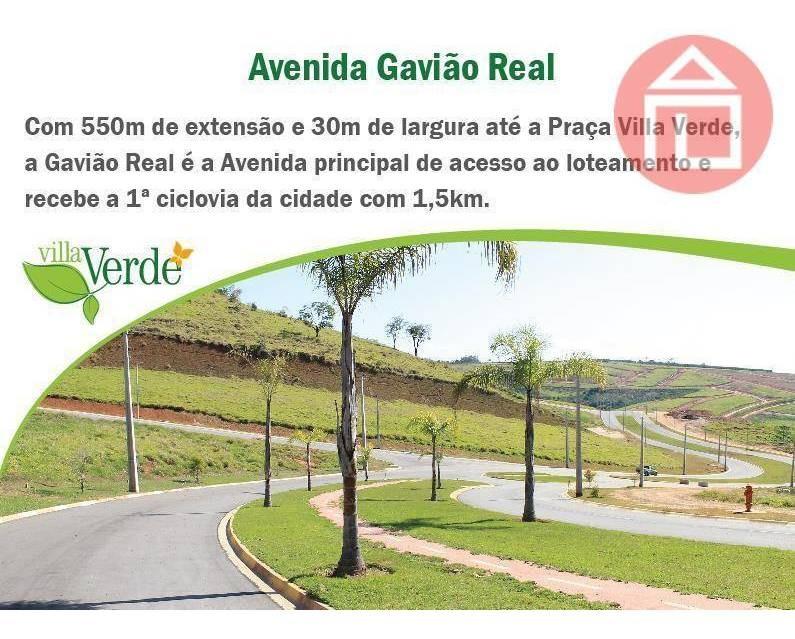 terreno residencial à venda, residencial villa verde, bragança paulista - te0500. - te0500