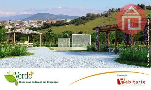 terreno residencial à venda, residencial villa verde, bragança paulista - te0538. - te0538