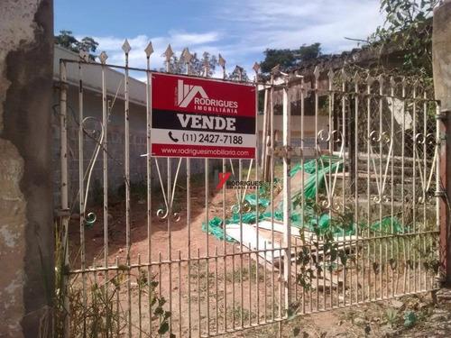 terreno residencial à venda, retiro das fontes, atibaia. - te0487