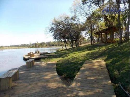 terreno residencial à venda, santa bárbara resort residence, águas de santa bárbara. - te0071