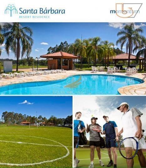 terreno residencial à venda, santa bárbara resort residence, águas de santa bárbara. - te0137