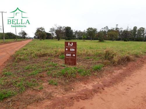 terreno residencial à venda, santa bárbara resort residence, águas de santa bárbara. - te0224