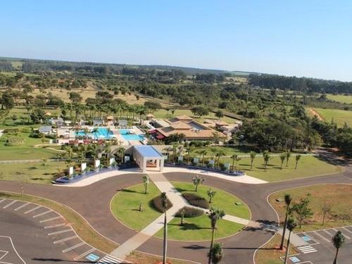 terreno residencial à venda, santa bárbara resort residence, águas de santa bárbara. - te0956