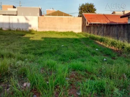 terreno residencial à venda, santa candida, agudos - te0384. - te0384