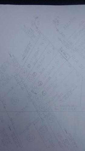 terreno residencial à venda, santa cecília i, são josé dos campos. - te0140