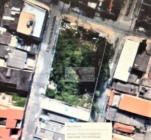 terreno residencial à venda, são miguel paulista, são paulo. - te0263
