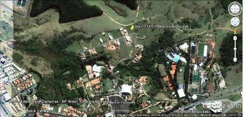terreno  residencial à venda, sousas, campinas. - codigo: te0573 - te0573
