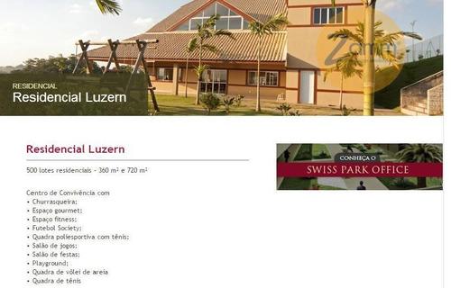 terreno  residencial à venda, swiss park, campinas. - codigo: te0602 - te0602