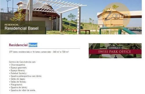 terreno  residencial à venda, swiss park, campinas. - codigo: te0617 - te0617