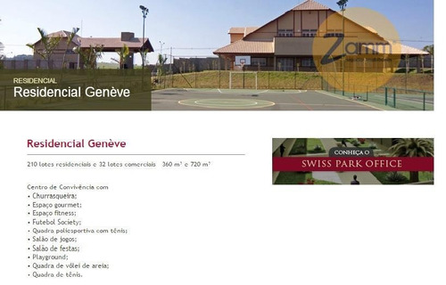 terreno  residencial à venda, swiss park, campinas. - codigo: te0618 - te0618