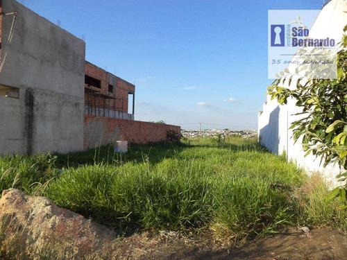 terreno residencial à venda, terras de santa bárbara, santa bárbara d'oeste. - te0167