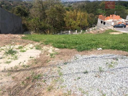 terreno  residencial à venda, terras de são fernando, cotia. - te0975