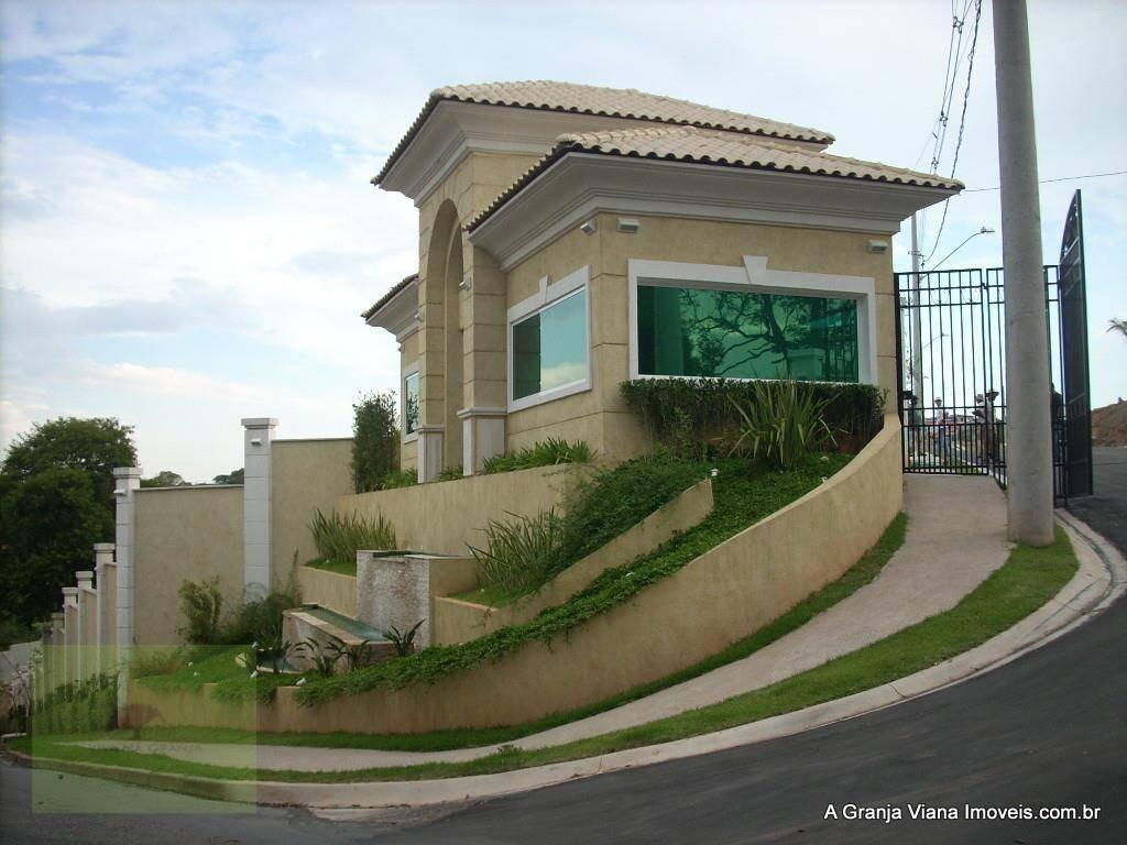 terreno residencial à venda, terras de são fernando, granja viana, cotia - te0020. - te0020
