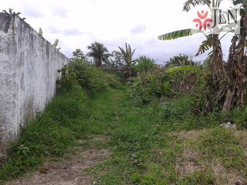 terreno residencial à venda, umuarama parque itanhaém, itanhaém. - te0040