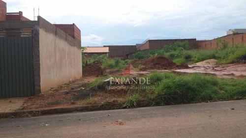 terreno residencial à venda, vila alto paraíso, bauru. - te0148