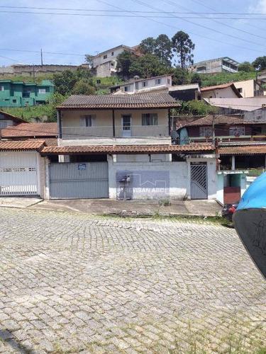 terreno residencial à venda, vila aurora, ribeirão pires. - codigo: te0003 - te0003