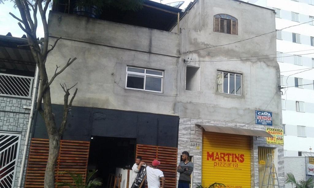 terreno residencial à venda, vila carmosina, são paulo. - te1485
