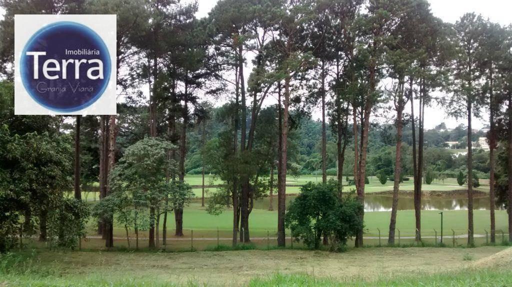 terreno  residencial à venda, vila de são fernando, granja viana. - te0226