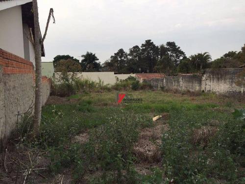 terreno  residencial à venda, vila esperia ou giglio, atibaia. - te0381