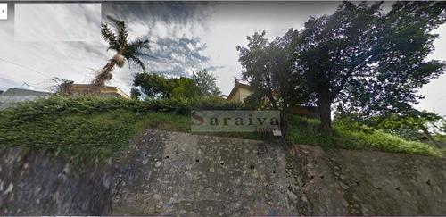 terreno residencial à venda, vila joão basso, são bernardo do campo. - te0029