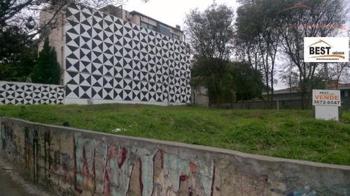 terreno residencial à venda, vila leopoldina, são paulo. - te0203