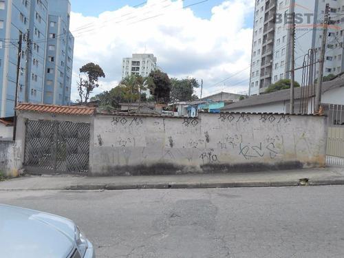 terreno residencial à venda, vila mangalot, são paulo. - te0194