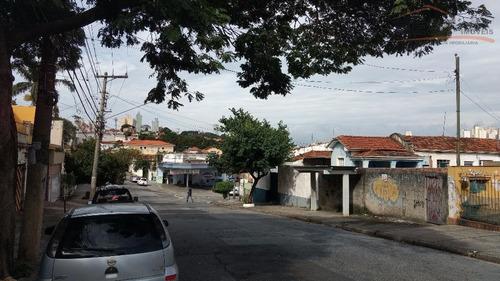 terreno residencial à venda, vila romana, são paulo. - te0176