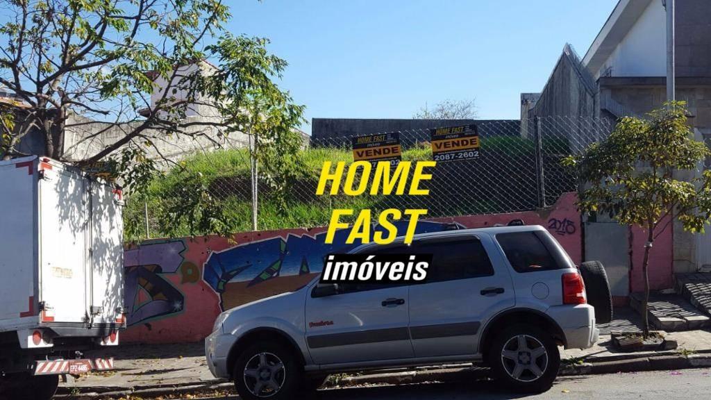 terreno residencial à venda, vila rosália, guarulhos - te0043. - te0043