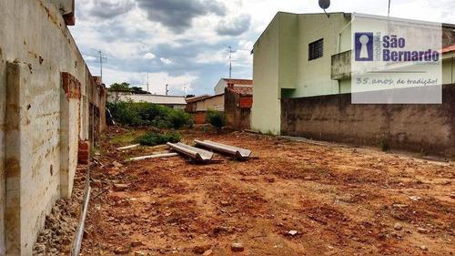 terreno  residencial à venda, vila santa catarina, americana. - te0129