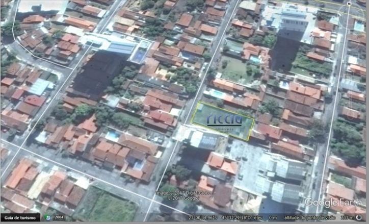 terreno residencial à venda, vila são josé, taubaté - . - te0456