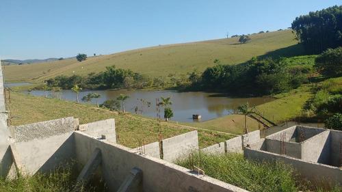 terreno residencial à venda, zona rural, paraibuna. - te0023