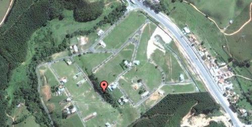 terreno residencial à venda, zona rural, paraibuna. - te0042