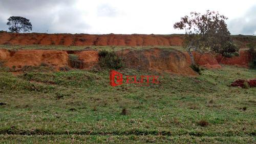 terreno residencial à venda, zona rural, paraibuna. - te1023