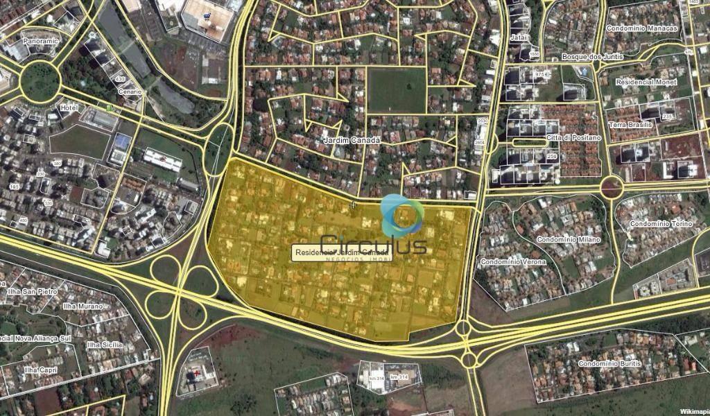 terreno residencial à venda,condomínio/jardim canadá, ribeirão preto. - te0329