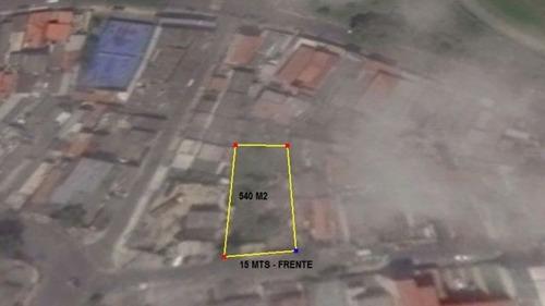 terreno residencial vila maria / referência 11/6129