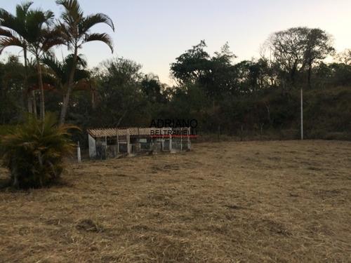 terreno rural  - mata, água, pequena construçâo - ch0045