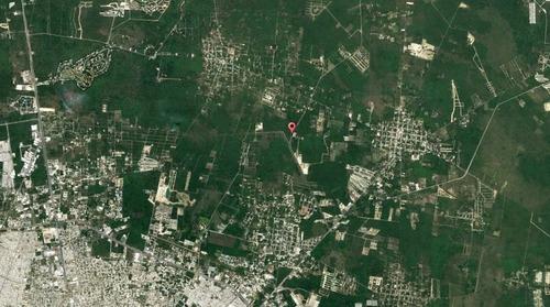 terreno rustico en vega del mayab